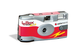 Agfa LeBox 400 27 Flash Engangskamera