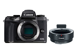 Canon EOS M5 + EOS M EF Adapter