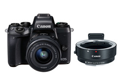 Canon EOS M5 + EF-M 15-45mm & EOS M EF Adapter