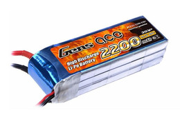 Gens Ace XT60 for Phantom 1 3s 2200mAh-25C