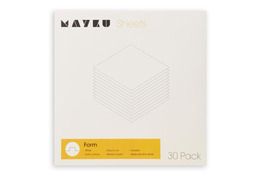 Mayku Form Sheets White (30pk)
