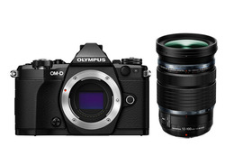 Olympus OM-D E-M5 Mark II Sort + Zuiko MFT 12-100mm f/4.0 IS PRO