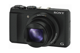 Sony Cyber-Shot HX60B Sort
