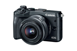 Canon EOS M6 m/15-45mm IS STM Sort