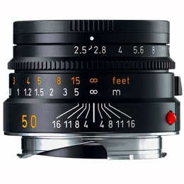 Leica Summarit-M f2.5/50mm Sort