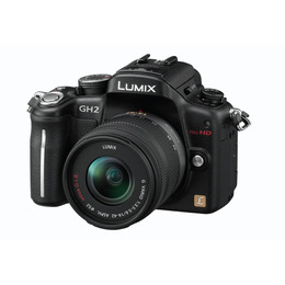 Panasonic Lumix DMC-GH2 m/14-42mm Sort