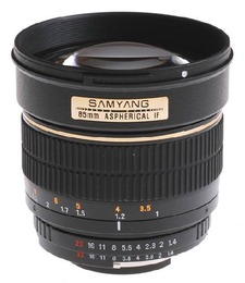 Samyang 85mm 1.4 Sony