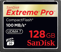 SanDisk CF Extreme Pro 128 GB 100Mb/s