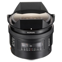 Sony 16mm f/2,8 Fisheye (SAL-16F28) B-vare
