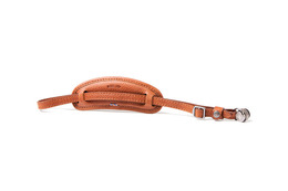 Barber Shop Tight Contour Hand Strap Grained Brown Leather