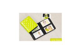Fuji Instax Album Diamond Lime Green