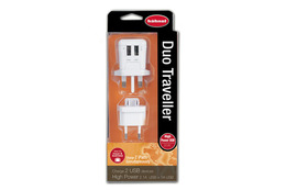 Hähnel Duo Traveller USB-lader