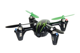 HUBSAN X4 H107C Quadcopter (Sort/Grønn)