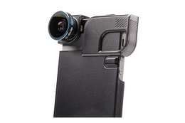 Olloclip 4-i-1 til iPhone 5/5s Sort med Quick-Flip Case