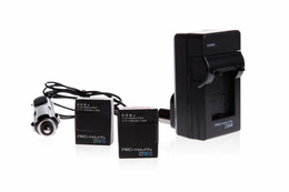 Pro-Mounts Batteri Kit for GoPro Hero3/3+