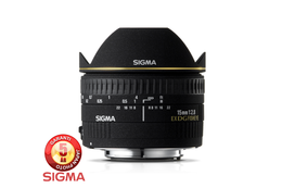Sigma 15mm f2.8 EX DG Fisheye for Canon