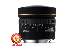 Sigma 8mm f3.5 EX DG Circular Fisheye for Nikon