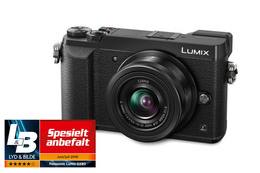 Panasonic Lumix GX80 Sort + 12-32mm f/3.5-5-6 ASPH. MEGA O.I.S.