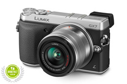 Panasonic Lumix GX7 m/14-42mm Sølv