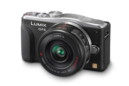 Panasonic Lumix GF6 m/14-42mm PowerZoom Sort