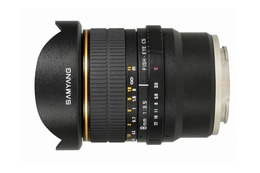Samyang 8mm f/3.5 Fisheye for Sony VG10 E-M