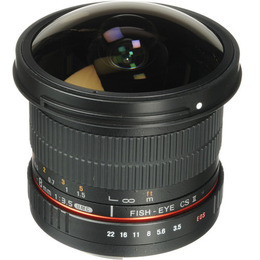 Samyang 8mm f/3.5 HD CSII for Canon EF