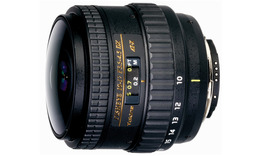 Tokina AT-X 10-17mm f/3.5-4.5 DX NH Fisheye for Canon