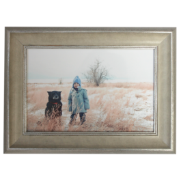 Nostalgi Sølv 13x18 cm