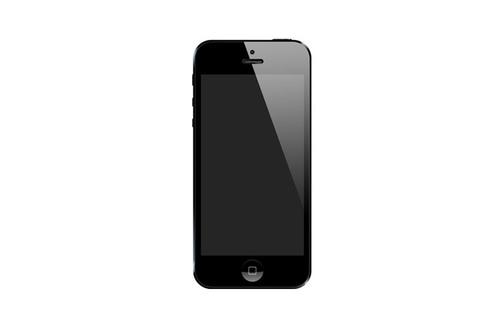 iPhone 5 Sort Skjermbytte