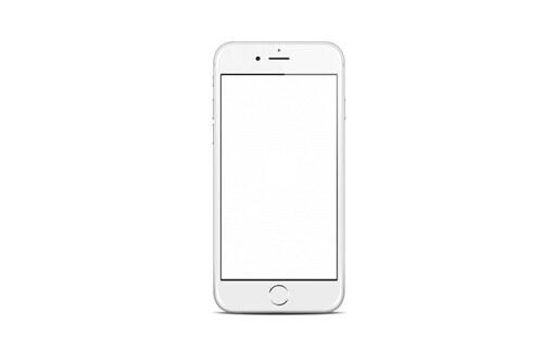 iPhone 6 Hvit Skjermbytte