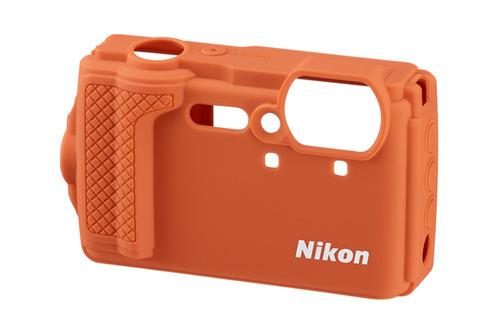Nikon W300 Silikonetui Oransje