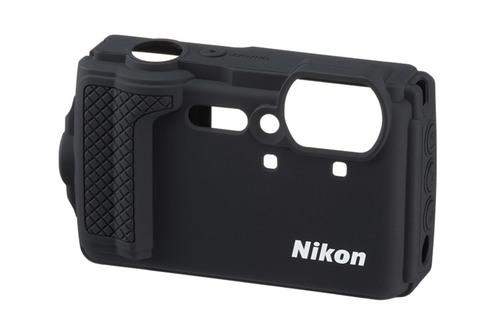 Nikon W300 Silikonetui Sort