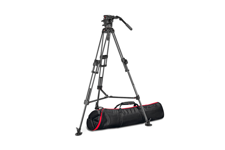 Manfrotto 526 + 645 Fast Twin MS 2 in 1 Karbonfiber Stativkit