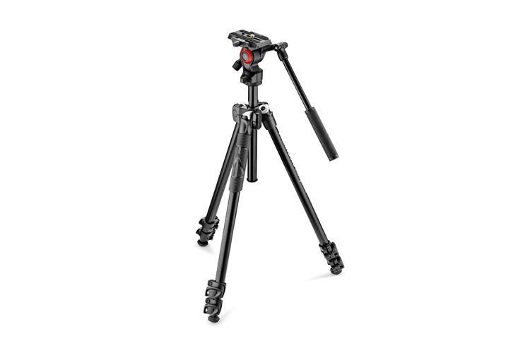 Manfrotto 290 Light + 400AH Stativkit B-vare