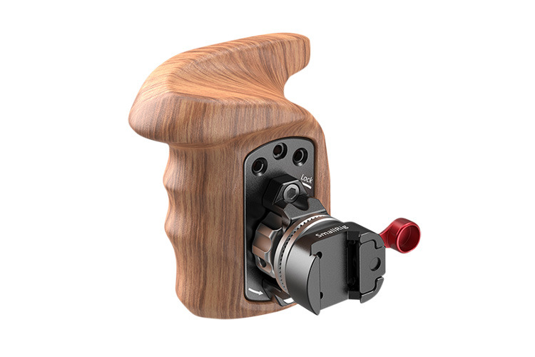 SmallRig 2117 Right Side Wooden Grip with NATO Mount