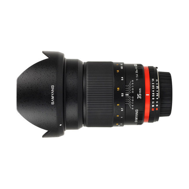Samyang 35mm F1.4 for Canon EF B-Vare