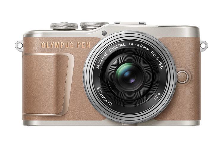 Olympus PEN E PL10 brun Kamerahus brun Foto.no