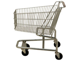 bilde av en tom handlevogn (empty shopping cart image)
